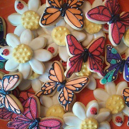 Butterflies and Daisies, 1dz