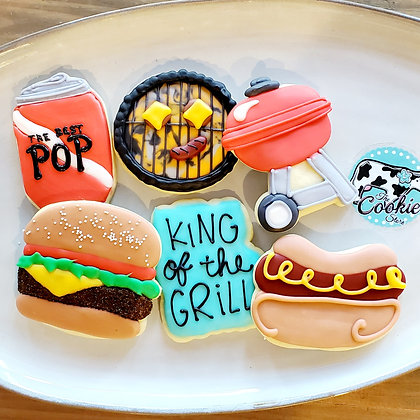 HFD King of the Grill, 1dz cookies