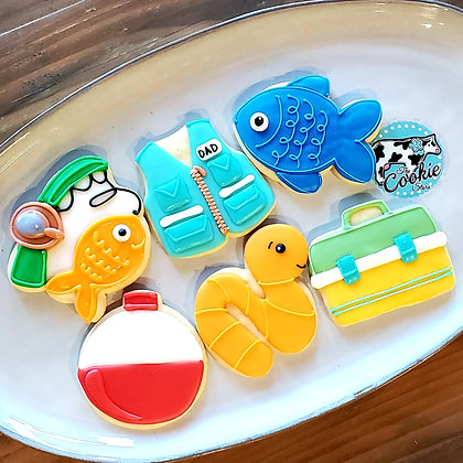 HFD Gone Fishing, 1dz Cookies