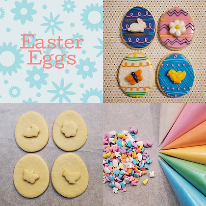 DYO cookie kit, Easter Eggs