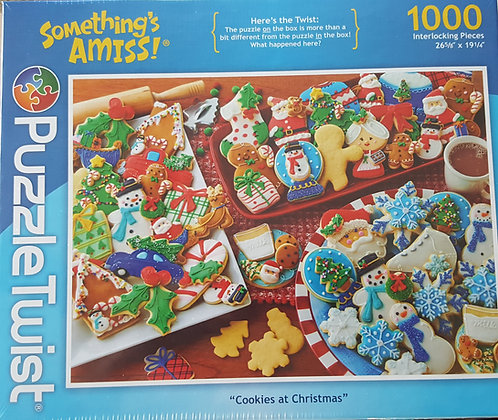 Puzzle - Cookies at Christmas
