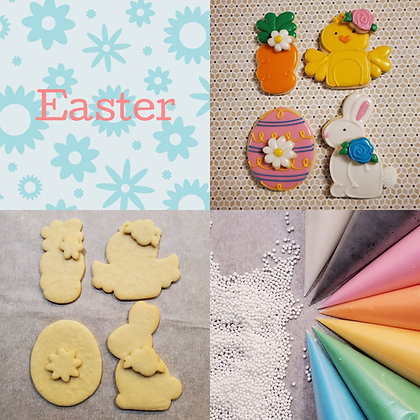 DYO cookie kit, Easter