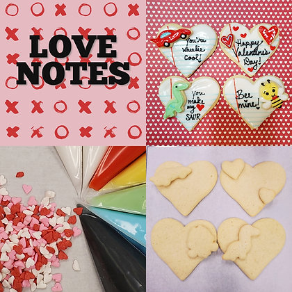Love Notes DYO Cookie Kit
