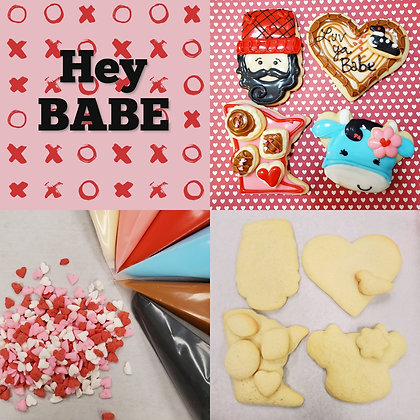 Hey Babe DYO Cookie Kit