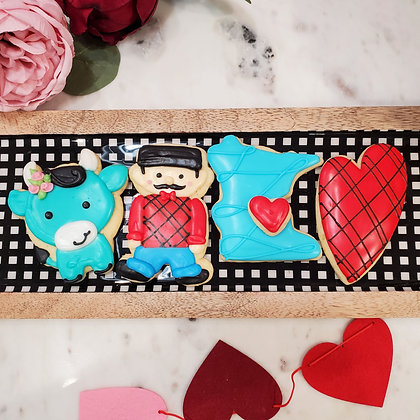 Love from Minnesota,  4 Cookie Gift Box
