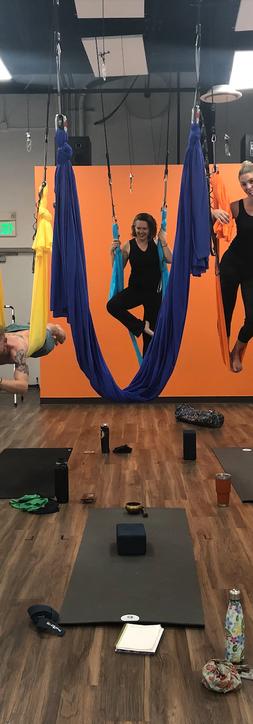 Aerial Power Yoga