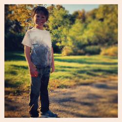 Tanner Flood as Kid Ish