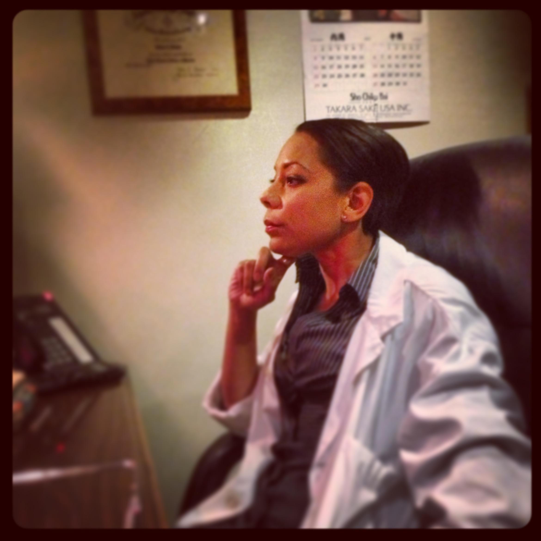 Selenis Leyva as Dr. Quenda