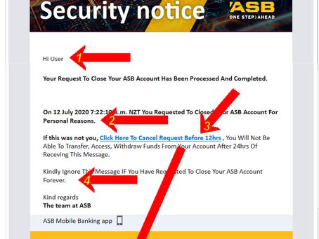 FAKE ASB Email