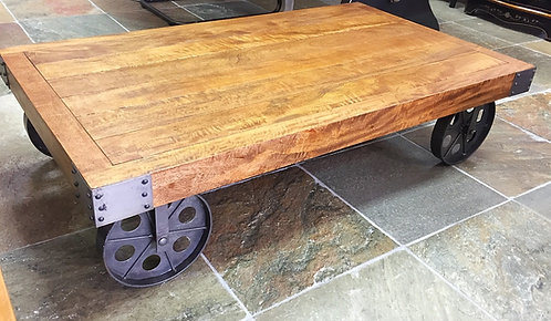 Industrail Re-Engineered Coffee Table
