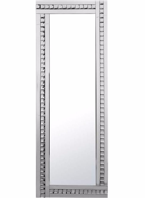 Triple Bar Crystal Mirror (silver)