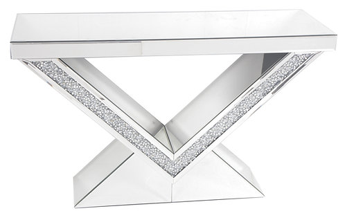Radiant Pyramid Console Table