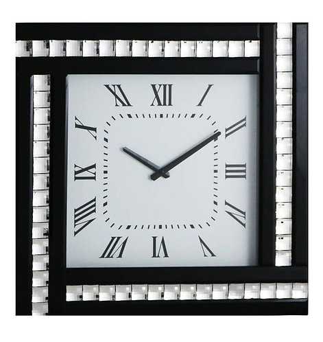 Crystal Square Clock