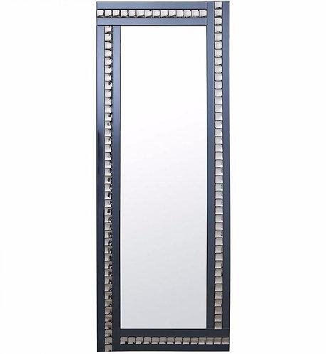 Classic Triple Bar Mirror Crystal