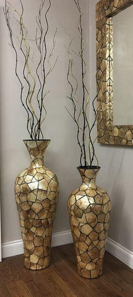 Gold Shell Vase