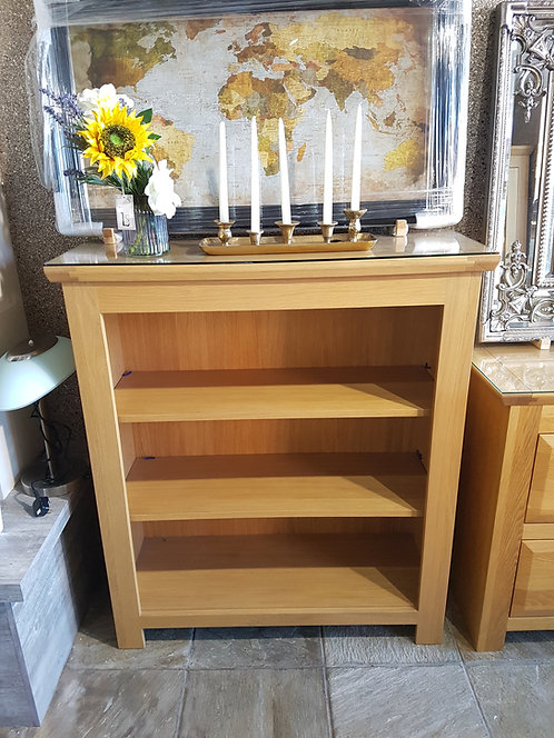 Charisma Slim Low Bookcase