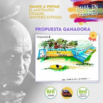 Bahía en Colores: obra ganadora