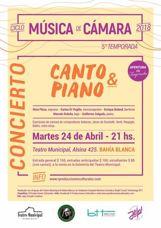 1er Concierto. Ciclo Música de Cámara.