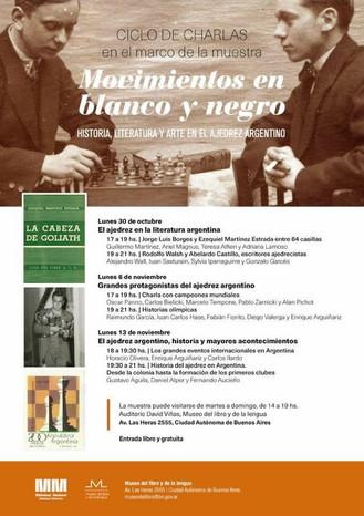 Conferencia de Adriana Lamoso en la Biblioteca Nacional
