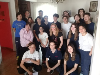 Visita de los alumnos de 6to año del colegio Güemes