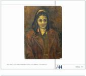 Portrait of a girl | Gilberto Aceves Navarro 1951