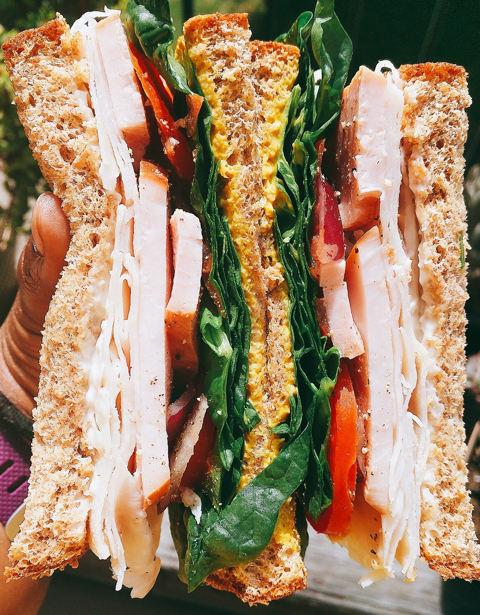 Ham & Turkey Sandwich