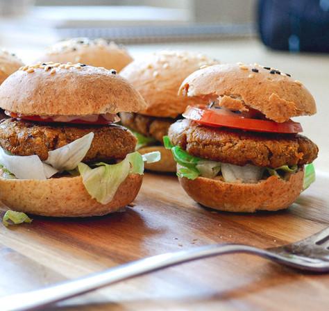 Mini Mehlwurmburger