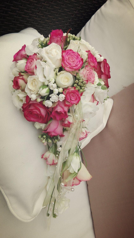 Brautstrauß herz