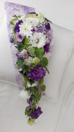 Brautstrauß hängend