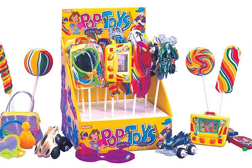 Alberts Pop Toys W/ Candy 2/12