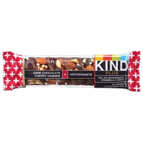 Kind Dark Chocolate Cherry Cashew + Antioxidants Bars 6/12ct 1.4oz