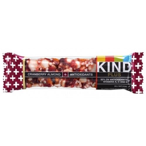 Kind Cranberry Almond + Antioxidants Bars 6/12ct 1.4oz