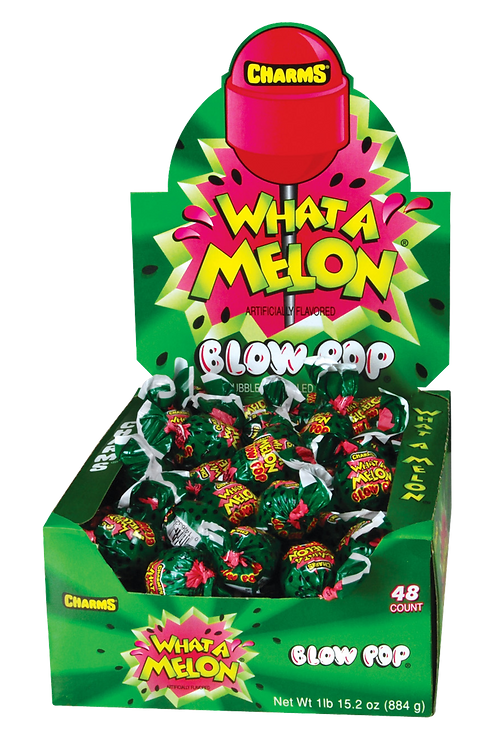 Charms What-A-Melon Blow Pops 12/48