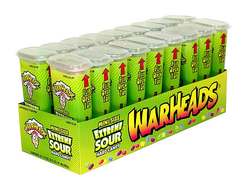 Warheads Extreme Sour Candy Minis 8/18