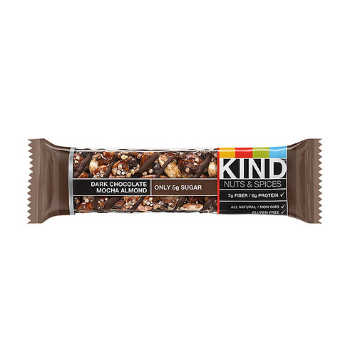 Kind Dark Chocolate Mocha Almond Bars 6/12ct 1.4oz