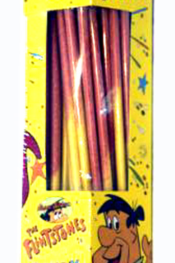 Alberts Giant Flinstones Straws 16/48