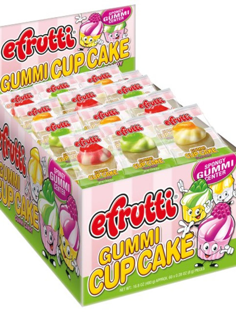 Efrutti Gummy Cup Cakes 6/60