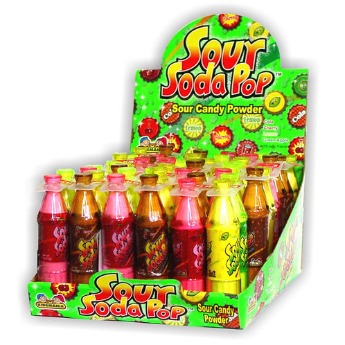 Kidsmania Sour Soda Pop 12/12