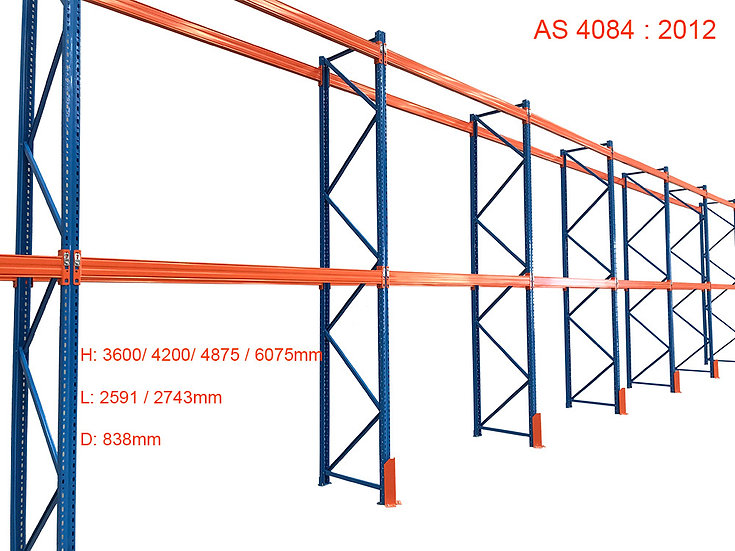 Pallets Racking Upright