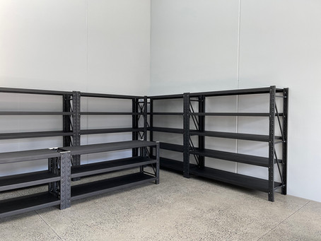 200x200x50cm Warehouse Metal Storage Garage Shelving