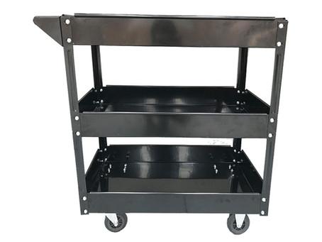 3-Tier Heavy Duty Steel Mechanic Handyman Tool Cart