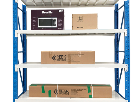 1.5Mx2M Steel Warehouse Rack Storage Garage Shelving