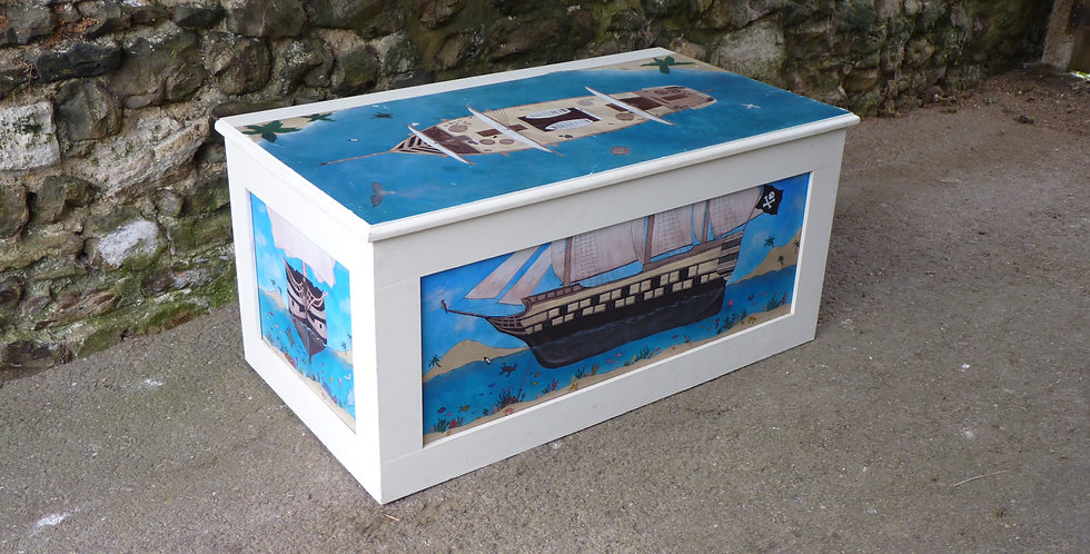 Sea Chest toy box