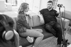Liam Mulvey visits AUB
