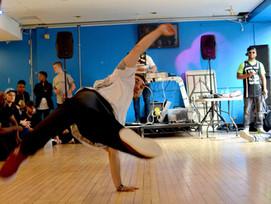 King Of the BBOYZ in Birmingham dance for SPWT School