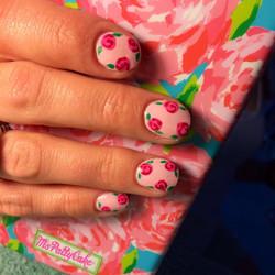 lila  pulitzer nails.