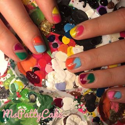 negative space nails.