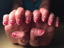 crazy heart nails.