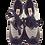 Thumbnail: Lace Up Leather Sole Dance Shoes