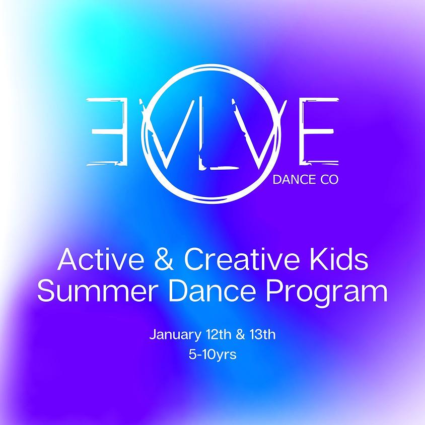 Active & Creative Kids Holiday Program
